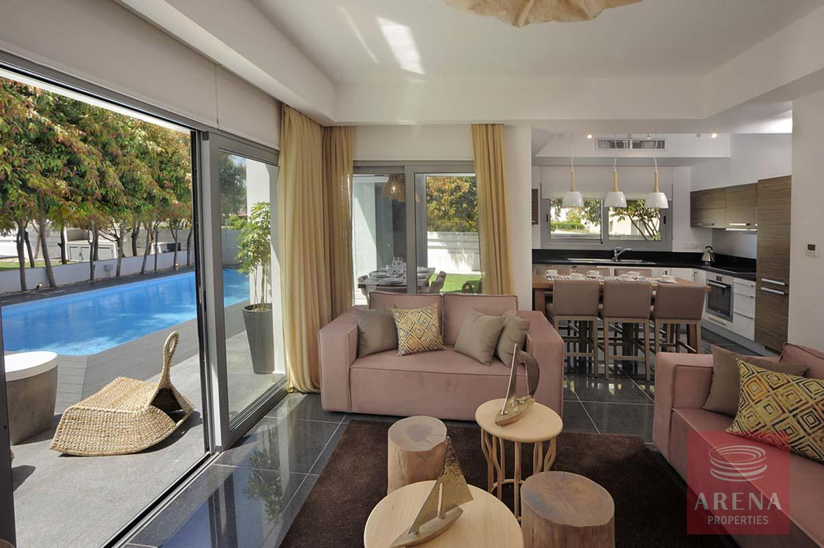 3 bed house in pervolia - living room
