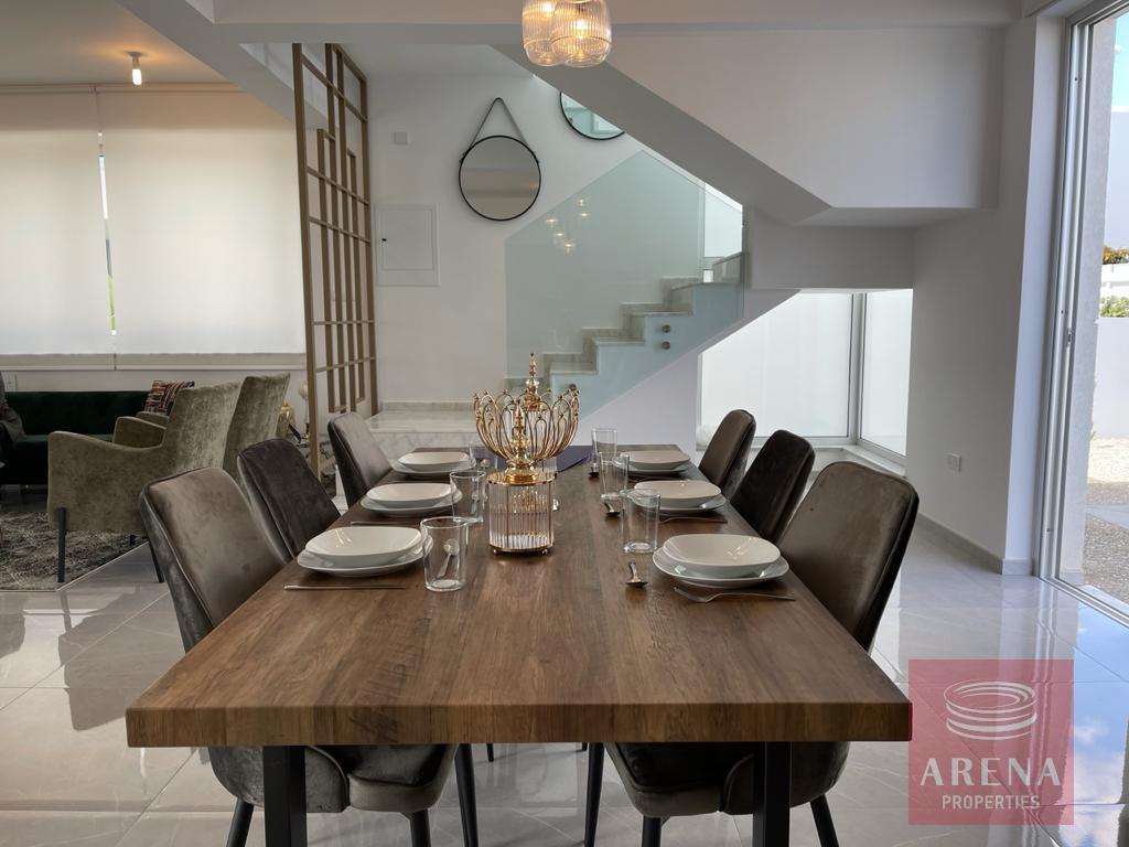 Luxury villa in Ayia Triada - dining area