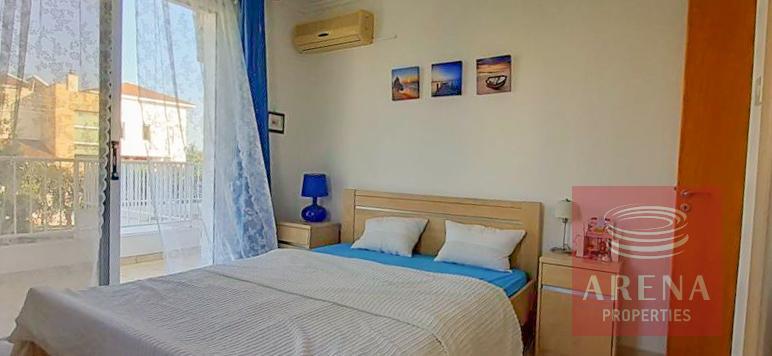 apartment with large veranda - bedroom
