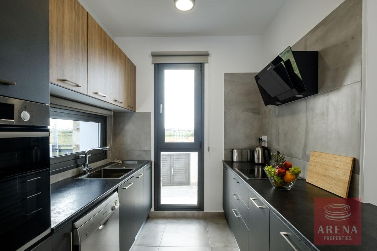 villa in dekelia - kitchen