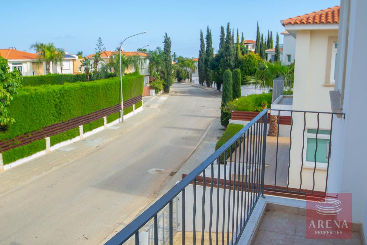 Villa for rent in Protaras - view from balcony