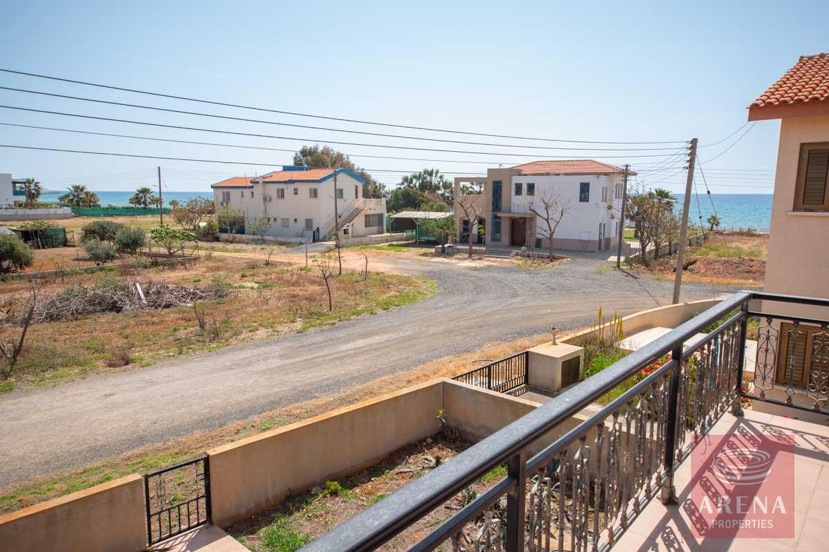 Villa in Ayia Thekla - views from the balcony
