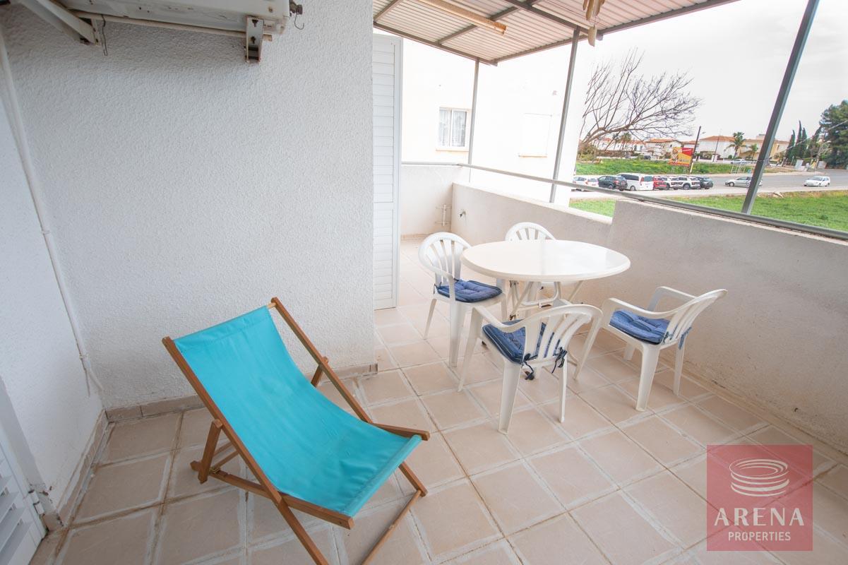 2 bed apt in Kapparis for sale - veranda