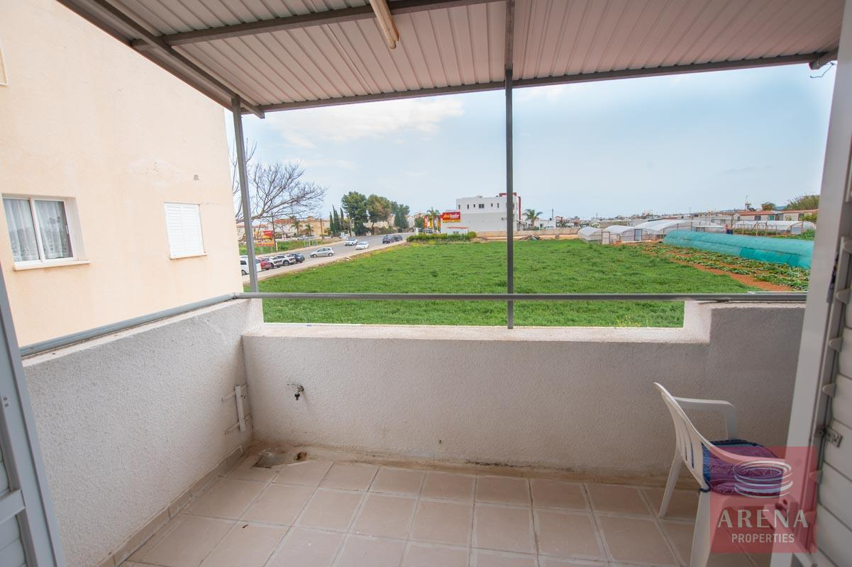 2 bed apt in kapparis for sale - balcony