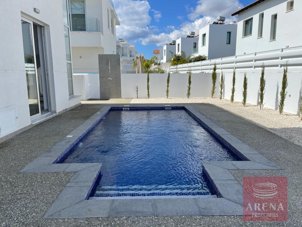 New luxury villa in Ayia Triada - pool