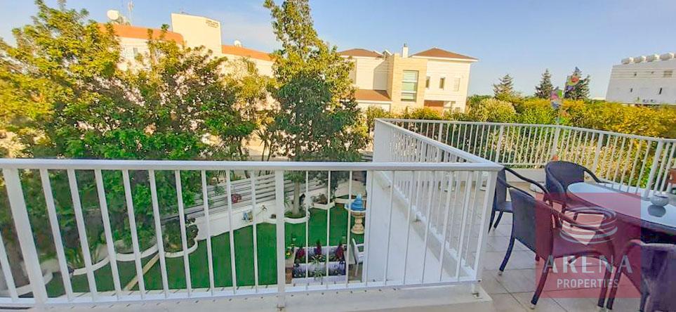flat with large veranda