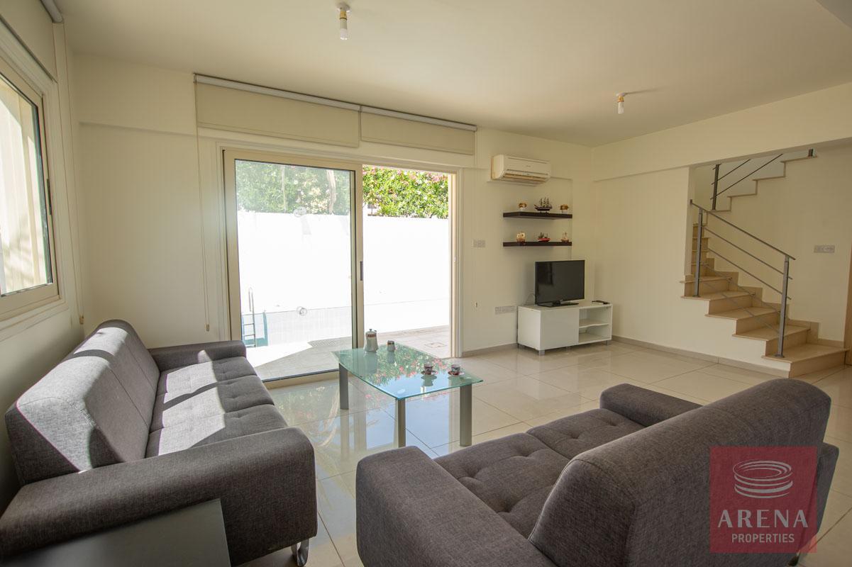 3 bed villa in pernera - living room
