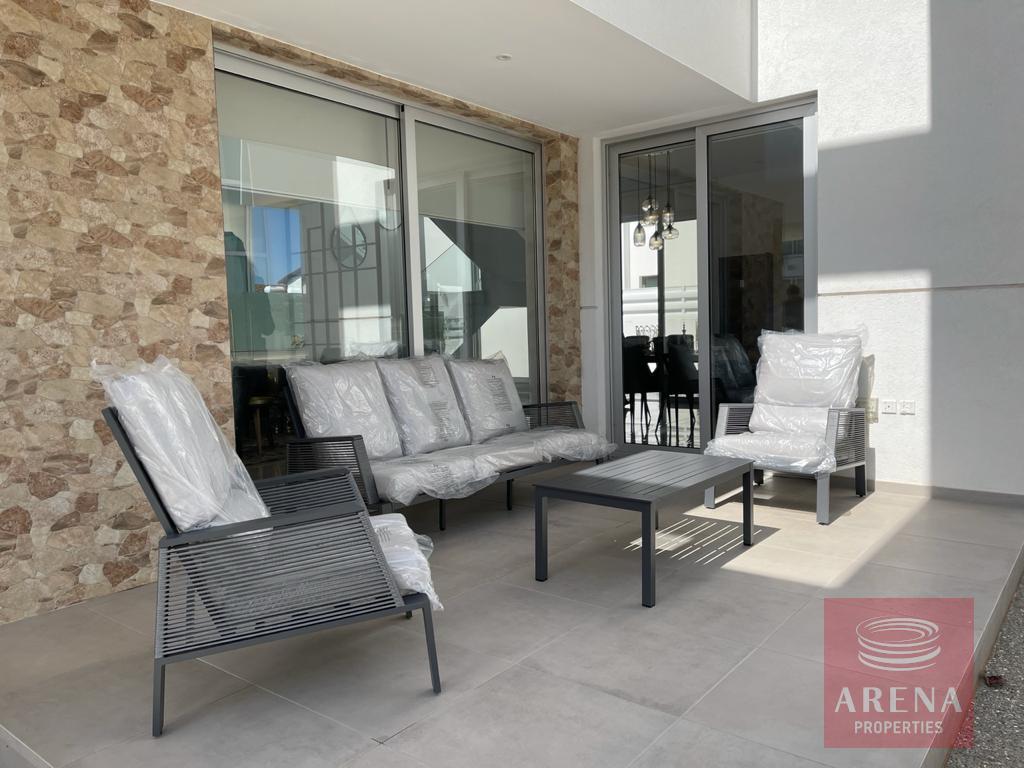 New luxury viilla in Ayia Triada - veranda