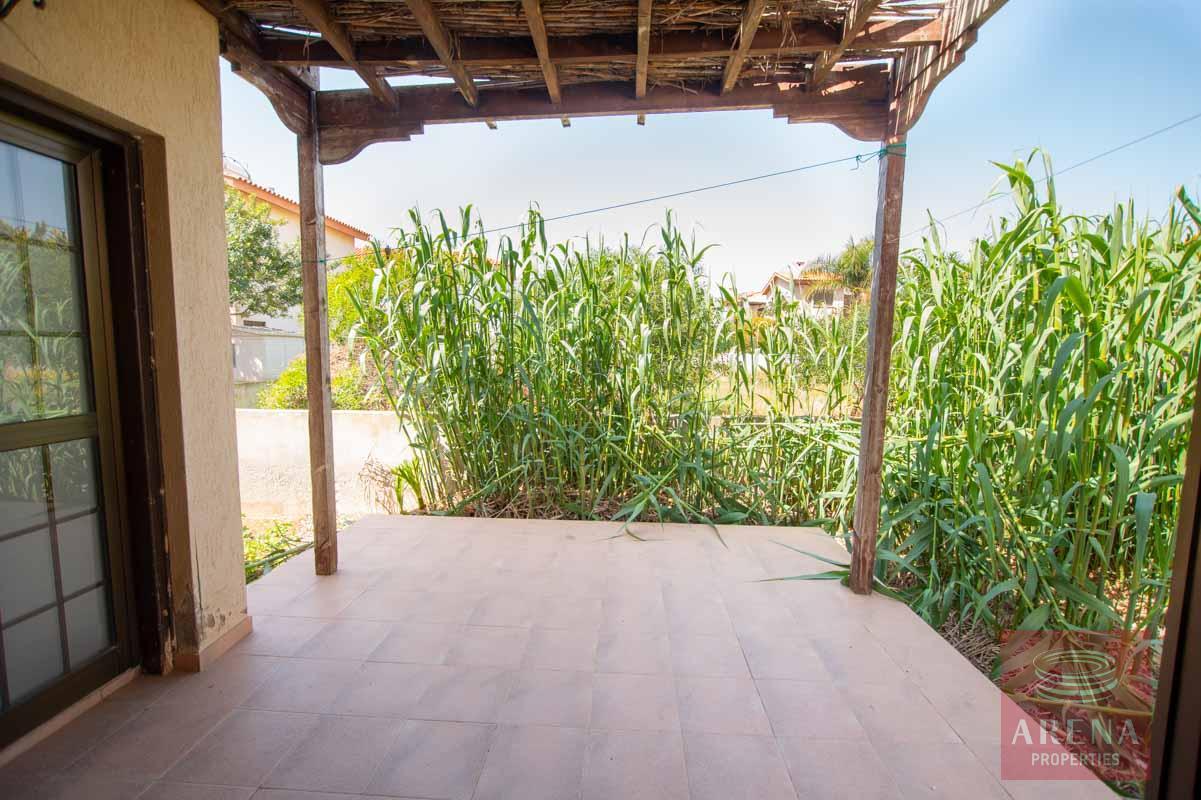 villa in Ayia Thekla - veranda