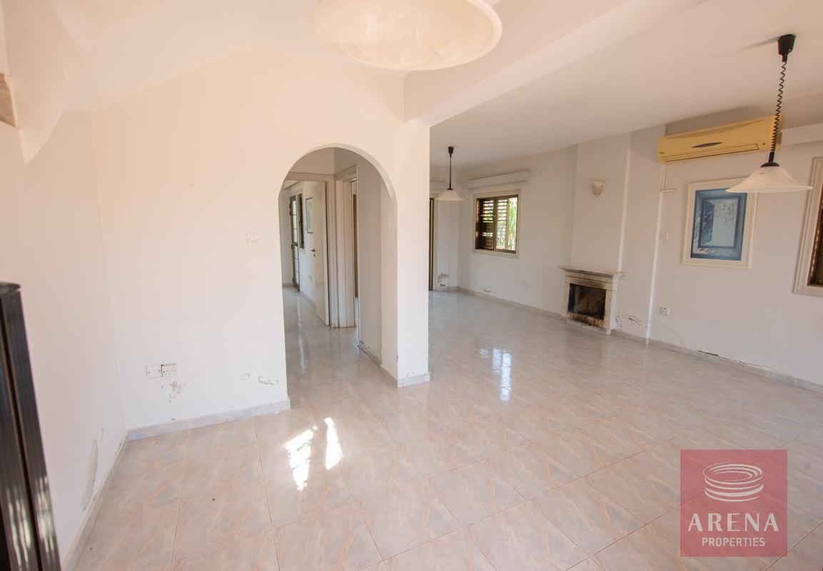 villa in ayia thekla - living area