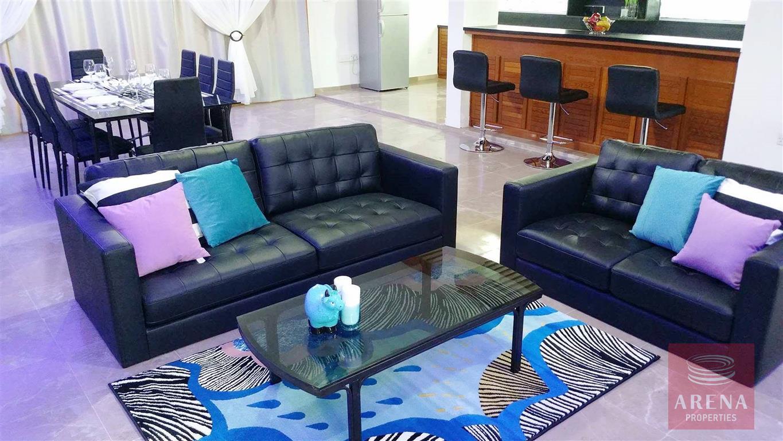 6 bed villa in ayia napa - living room