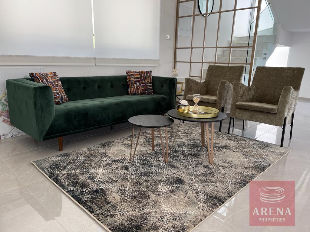 Luxury villa in Ayia Triada - living room