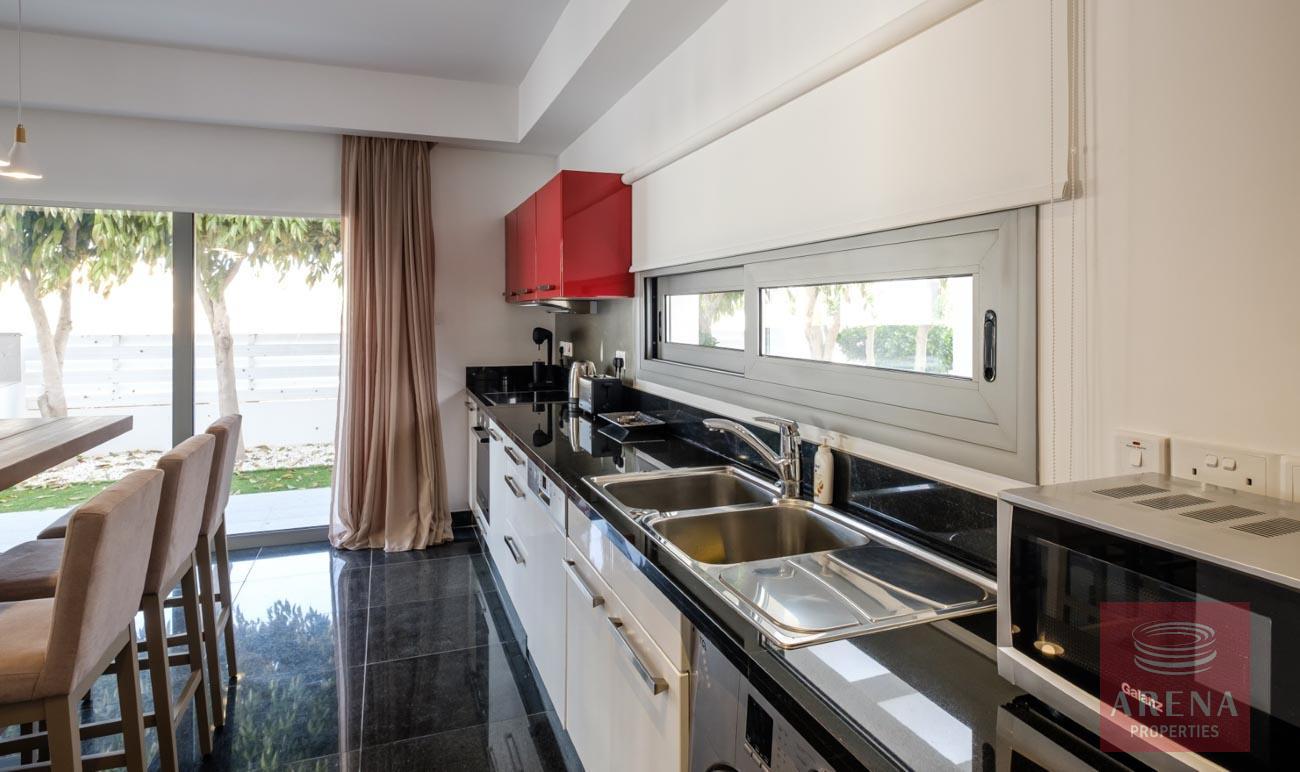 2 bed villa in pervolia for sale - kitchen