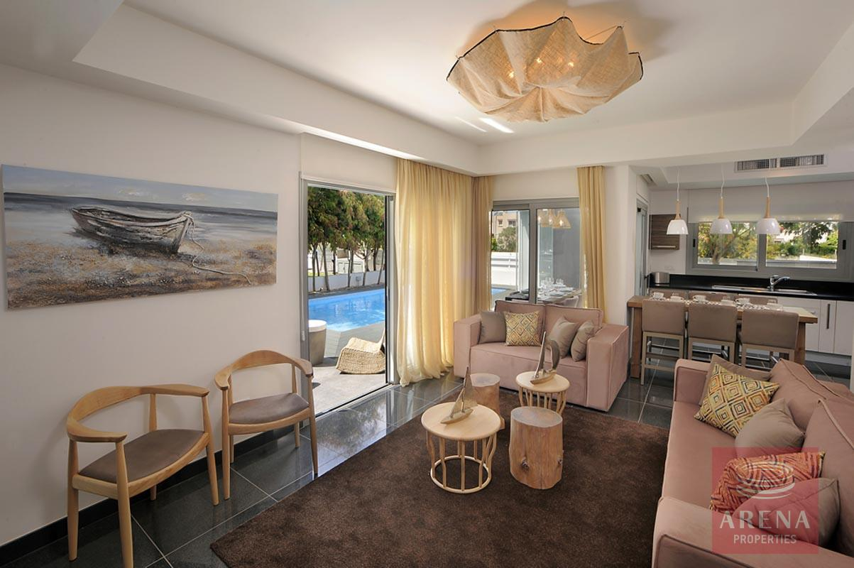 villa in pervolia - living room