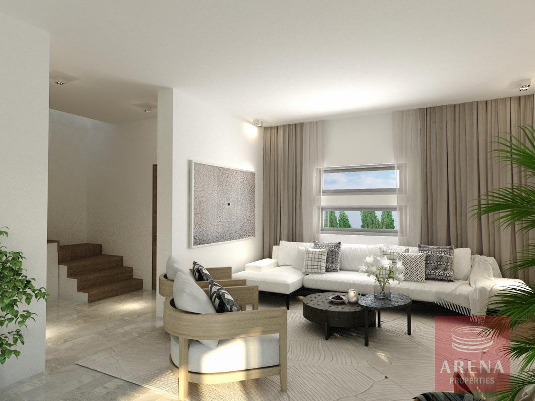 villa in Frenaros - living room
