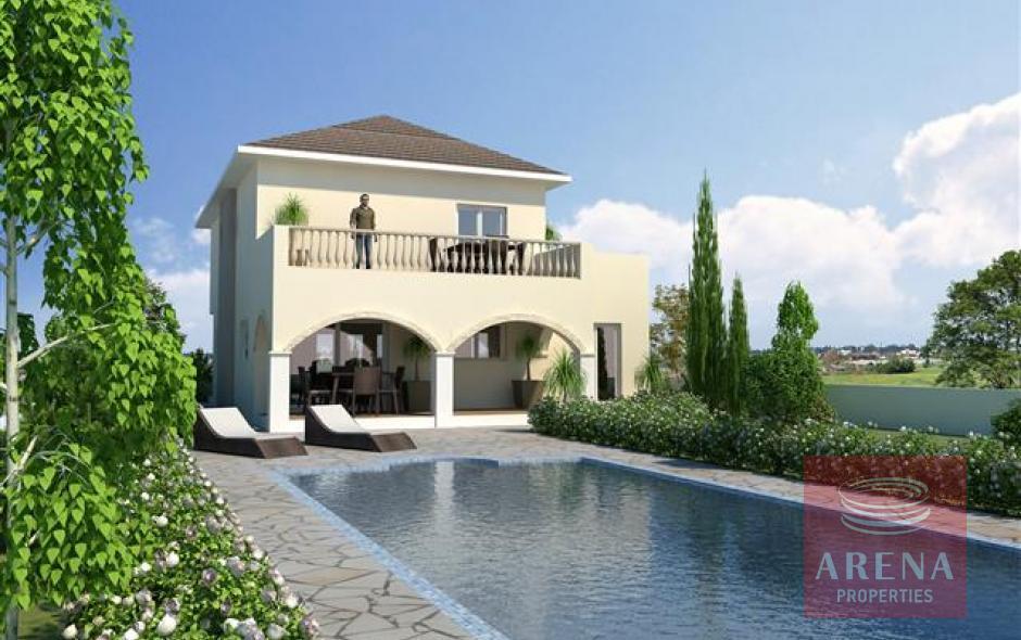 4 bed villa in derynia