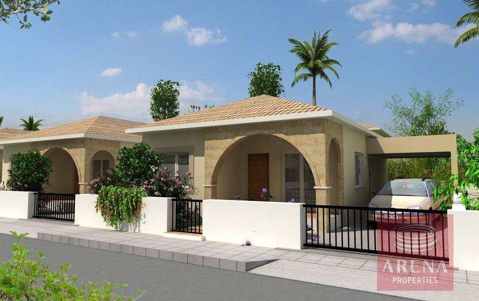 3 bed bungalow in xylofagou for sale