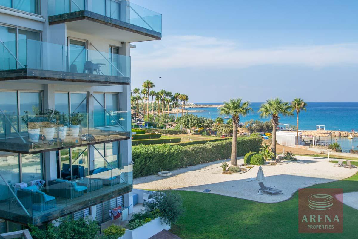 beachfront apartment in Protaras