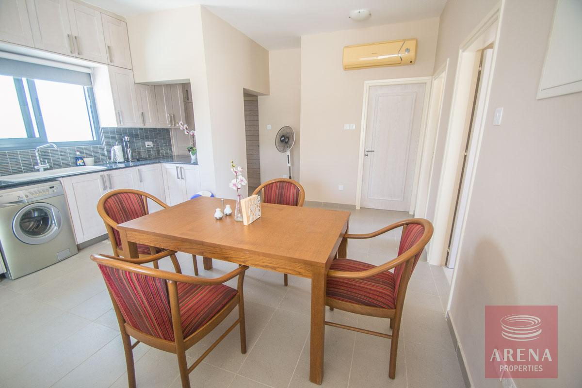 3 bed penthouse in kapparis - dining area