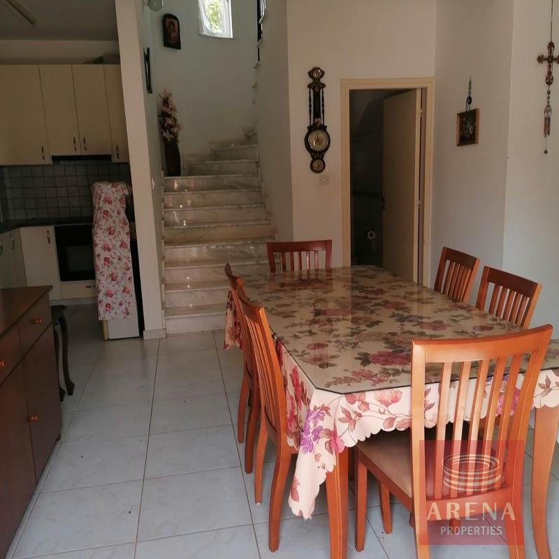 villa in ayia thekla for sale - dining area