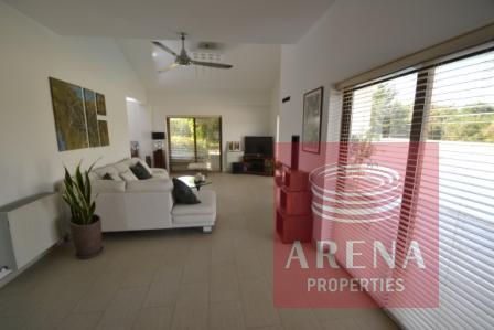 5 bed villa in pernera - living room