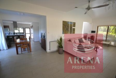 villa in pernera - living room