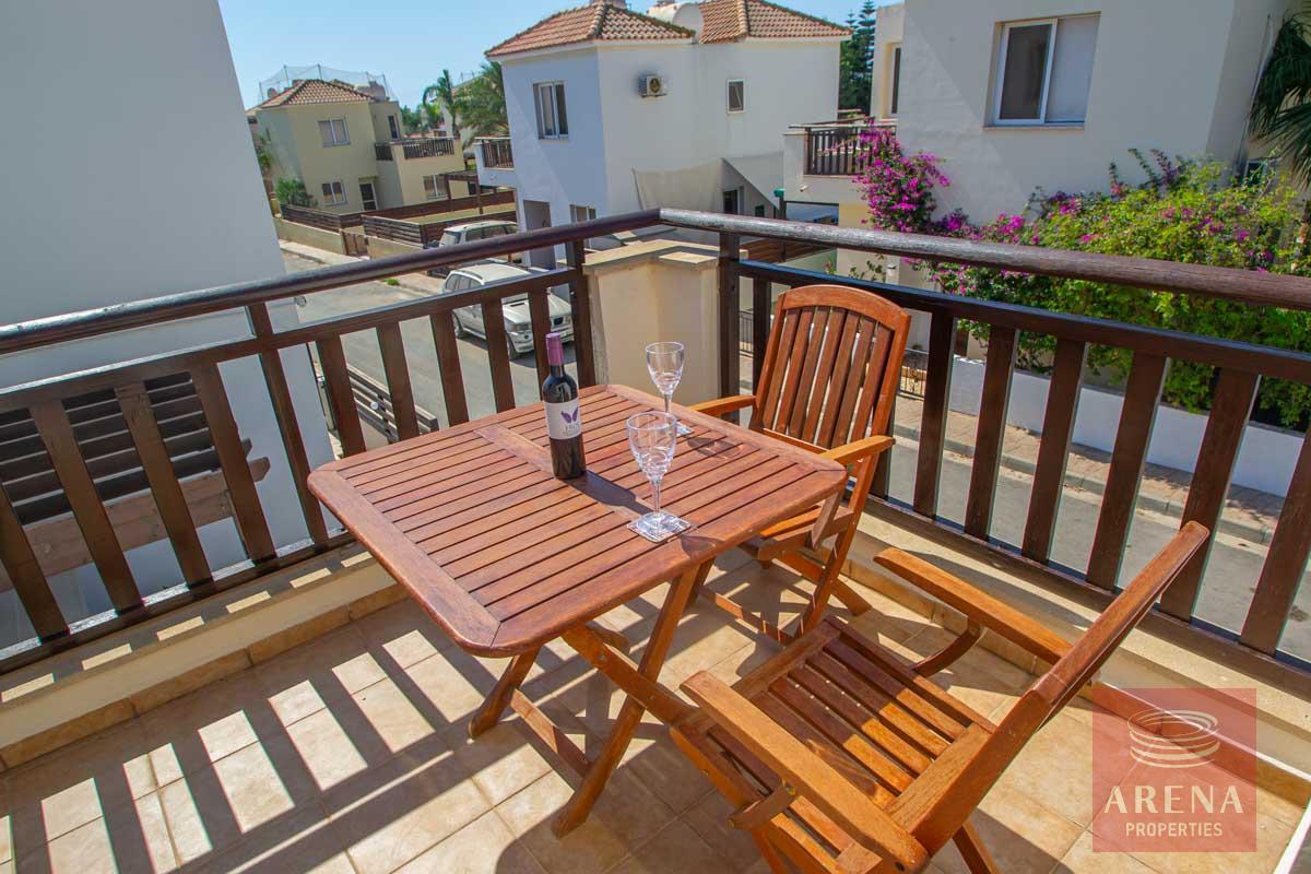 buy villa in ayia thekla - balcony