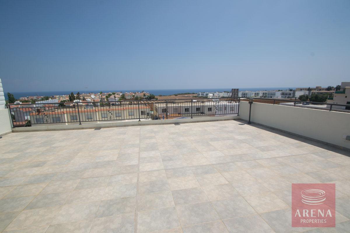3 bed penthouse in kapparis - veranda