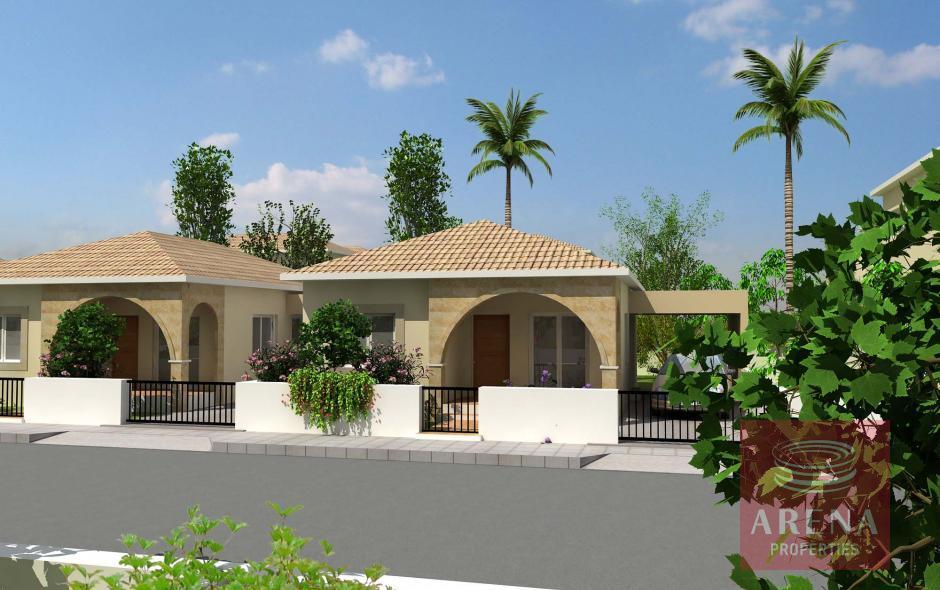 3 bed bungalow in xylofagou