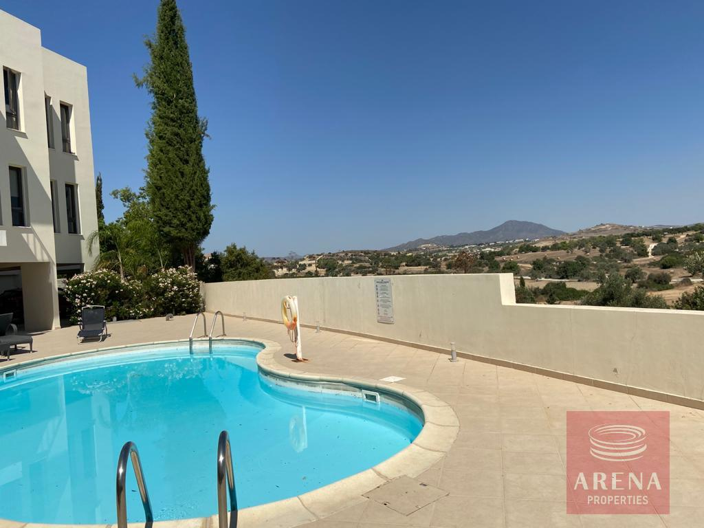 apt in Mazotos for rent - communal pool