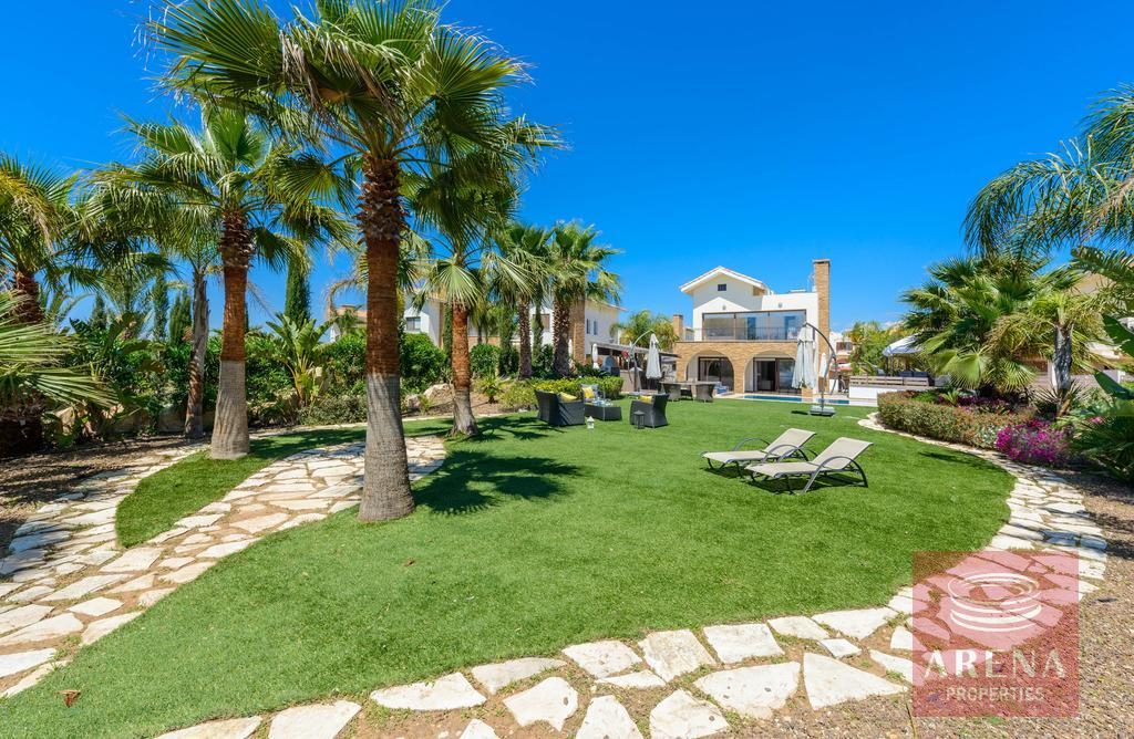 seafront villa in ayia thekla for sale