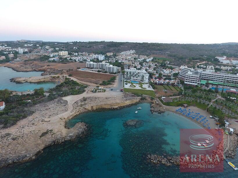seafront apartment for sale in protaras