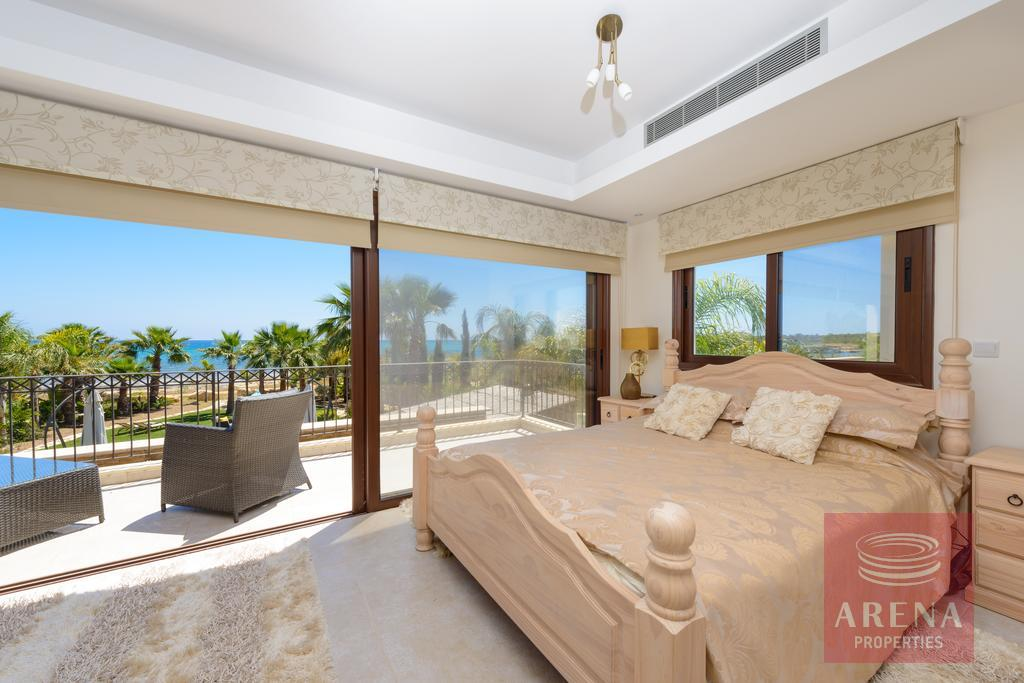 seafront villa in ayia thekla - bedroom
