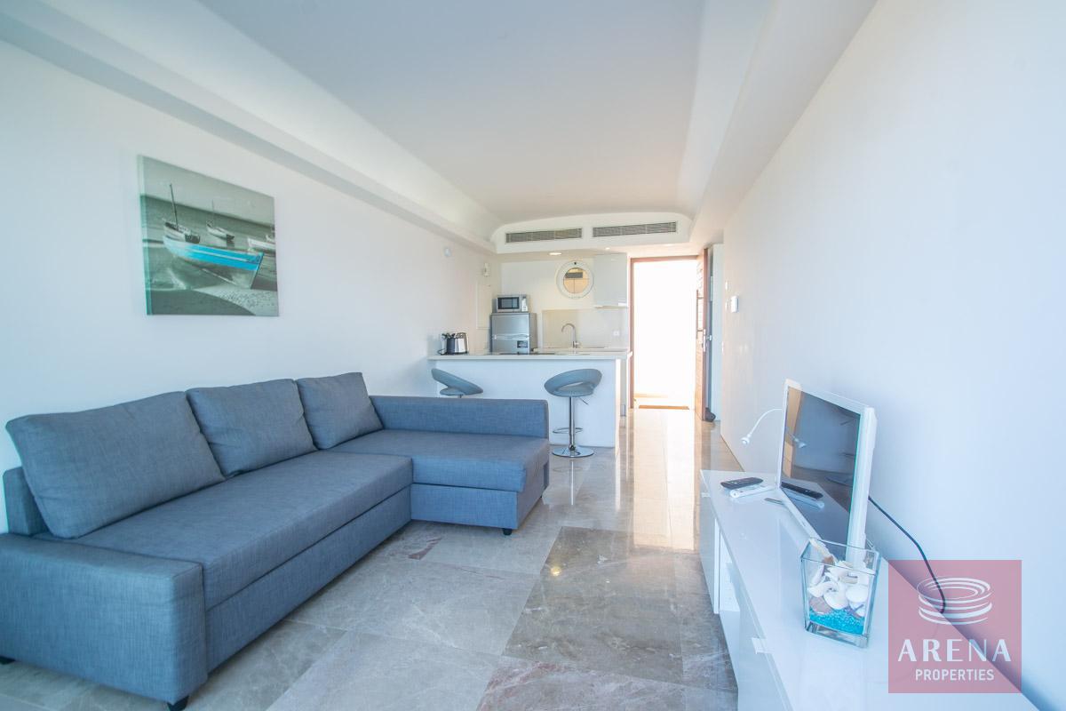 beachfront apartment in Protaras for sale - sitting area