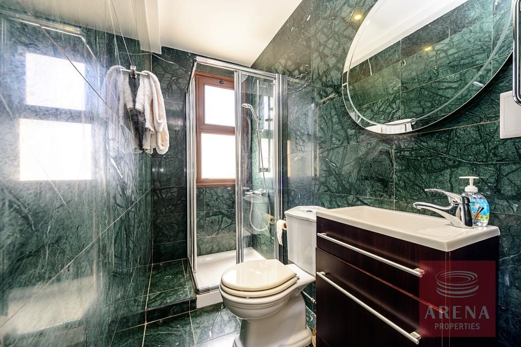 seafront villa in ayia thekla - bathroom
