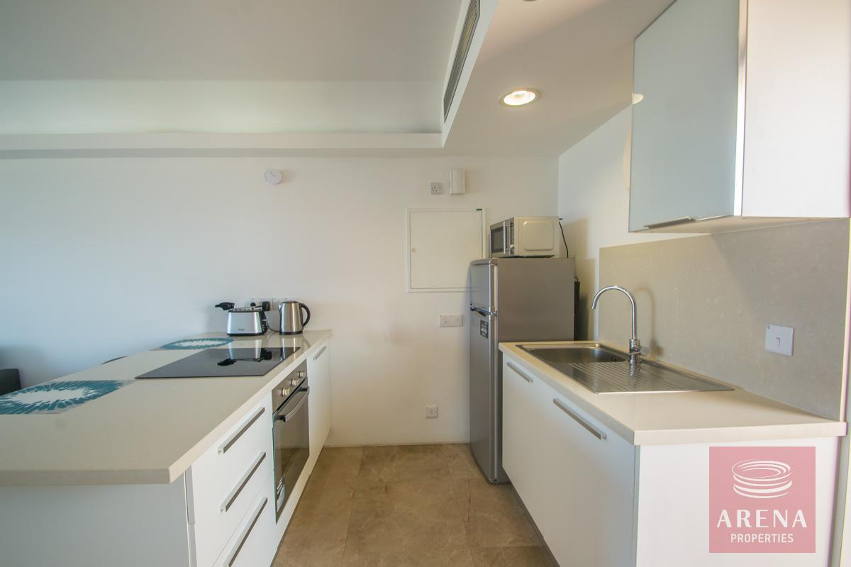 beachfront apartment in Protaras - kitchen
