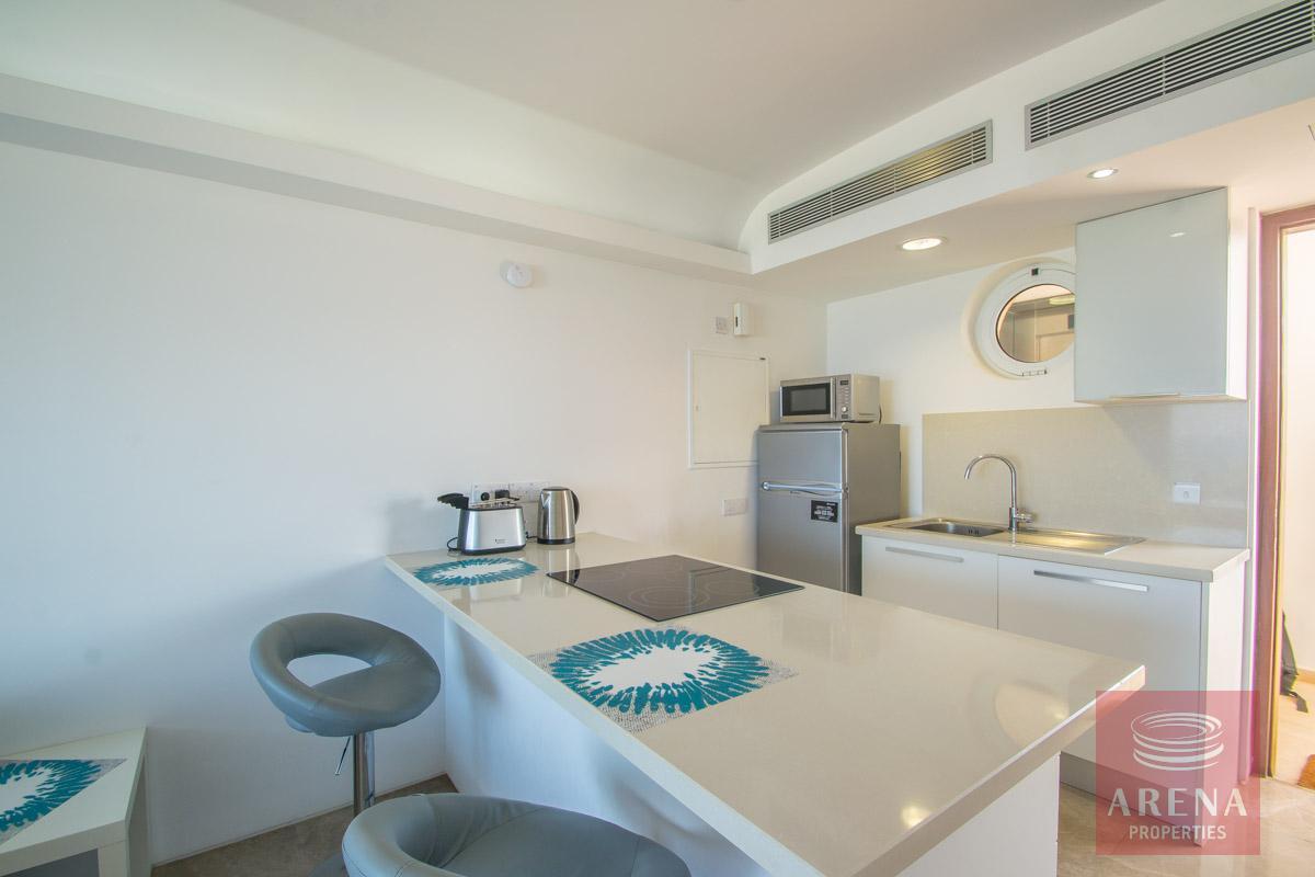 beachfront apartment in Protaras for sale - kitchen