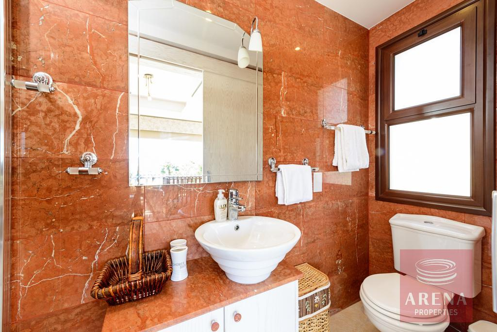 house in ayia thekla - bathroom