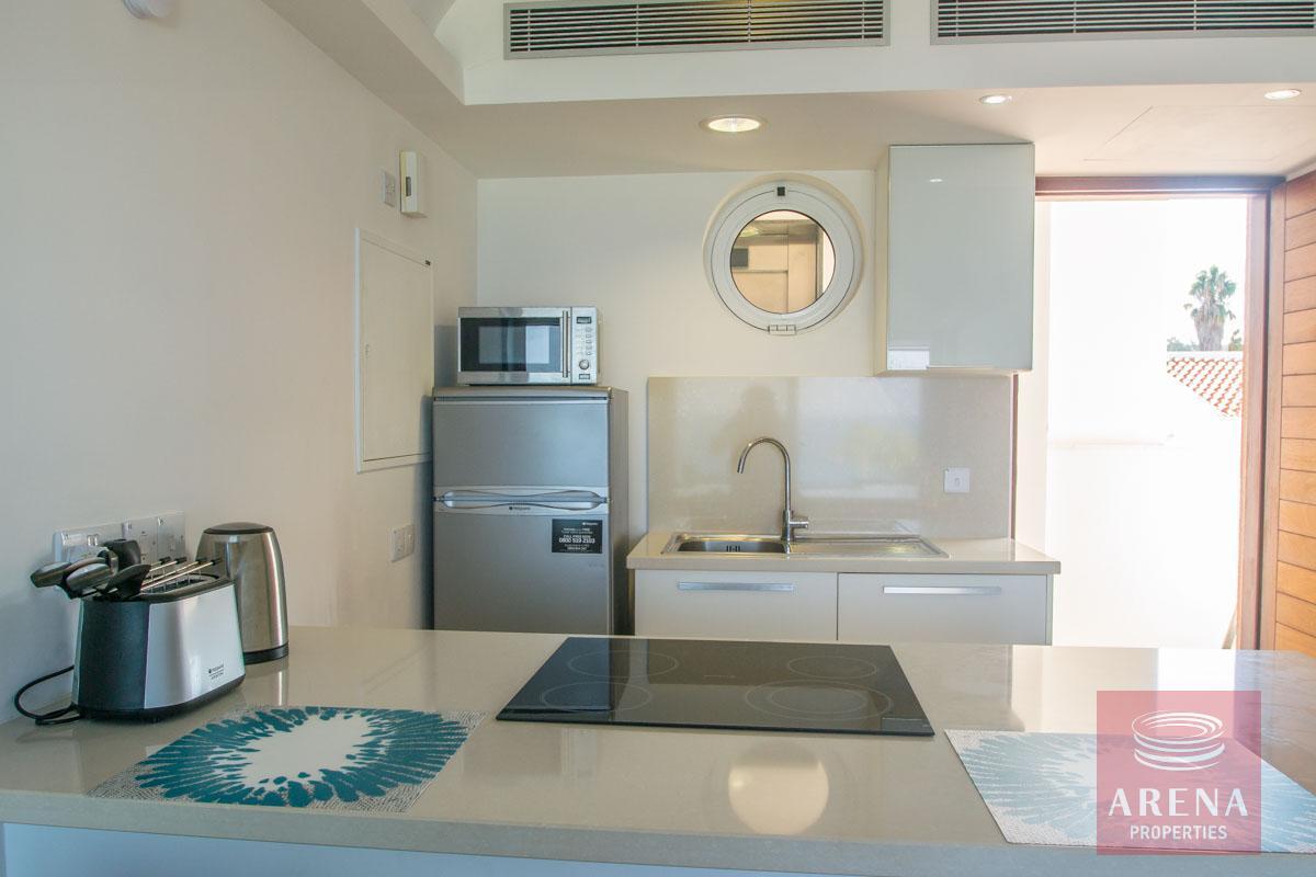 beachfront apartment in Protaras to buy - kitchen