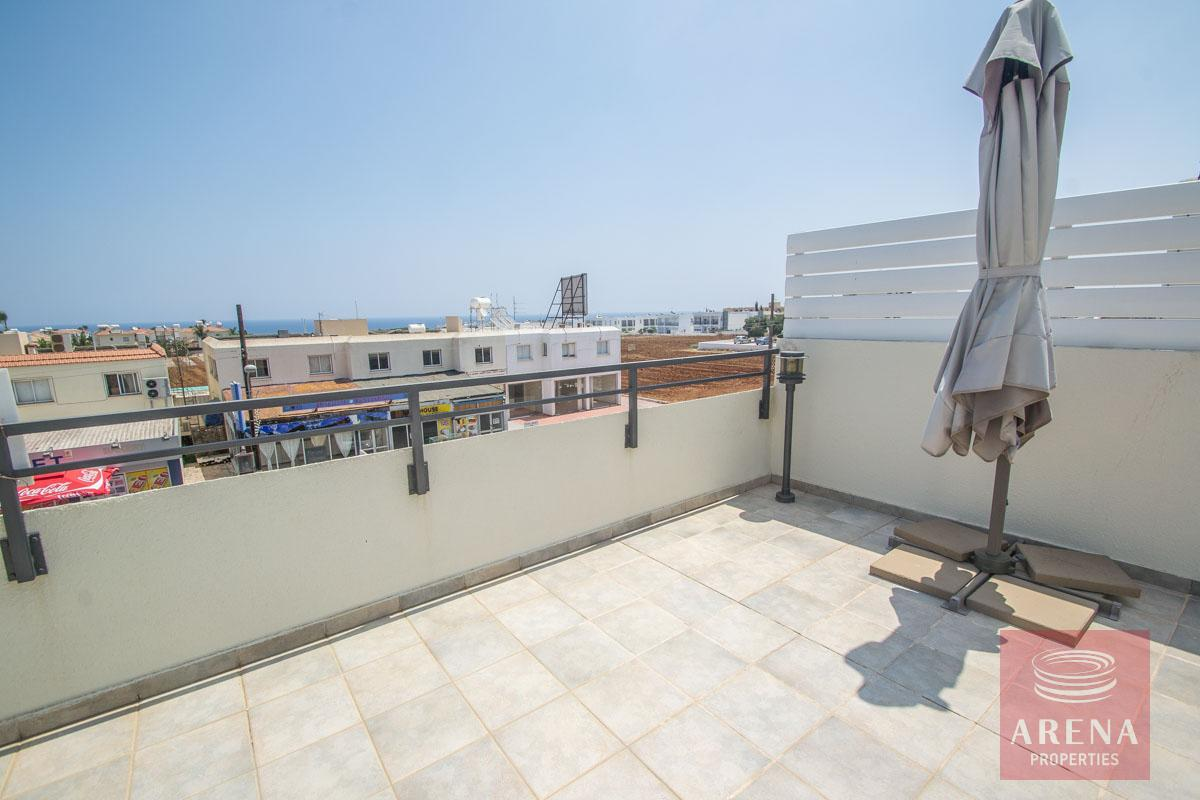 penthouse in kapparis - veranda