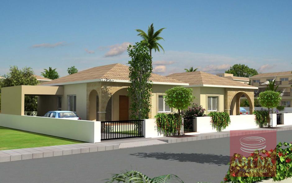3 bed bungalow in xylofagou to buy
