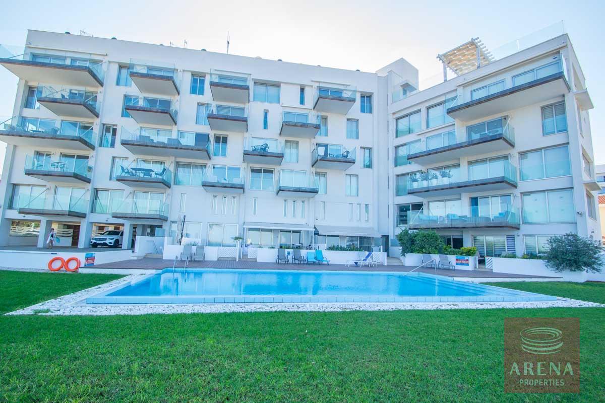 beachfront apartment in Protaras for sale
