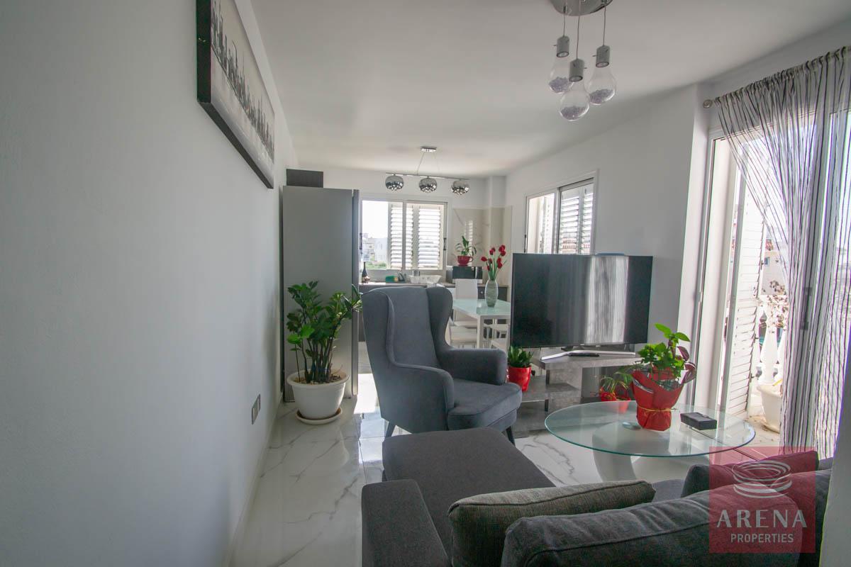 Apartment with large veranda - living area