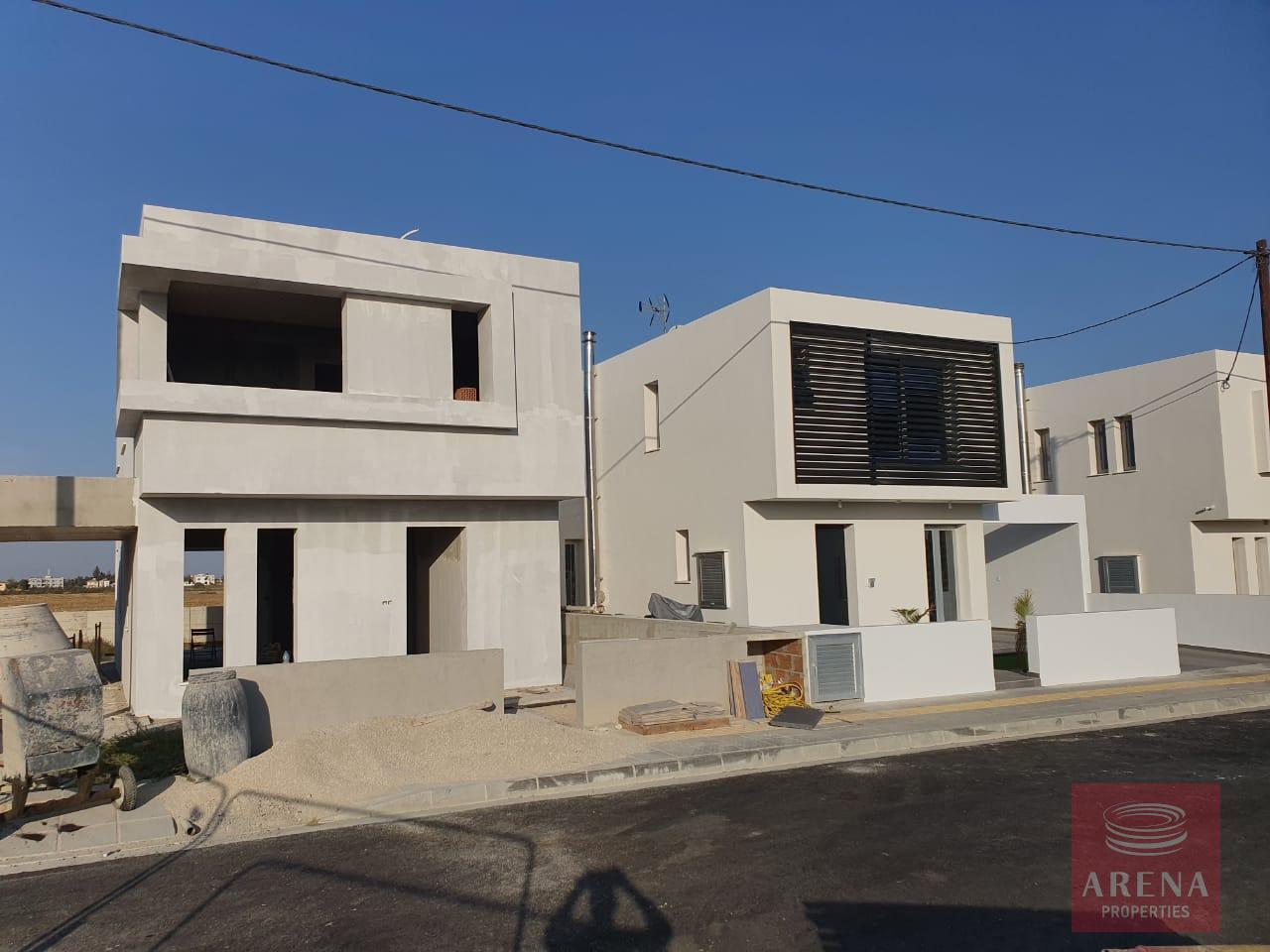 Houses at Kiti - progress