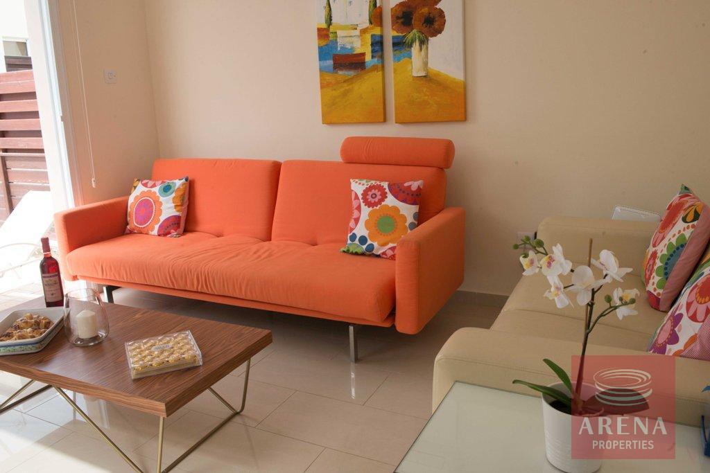 2 bed villa in pernera - living room