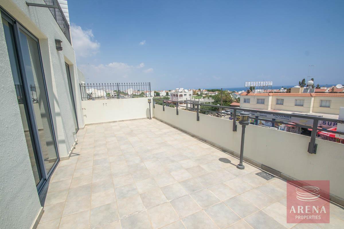 apartment in Kapparis - veranda
