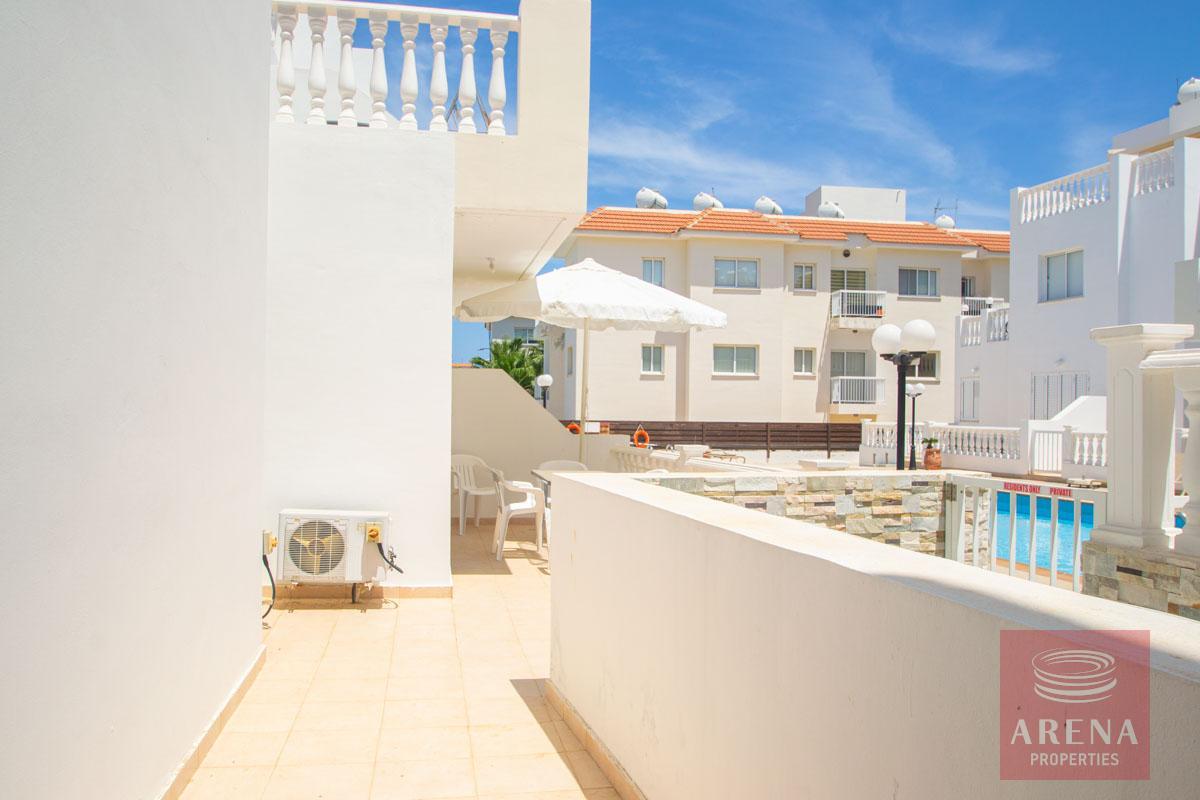 ground floor apt in Kapparis - balcony