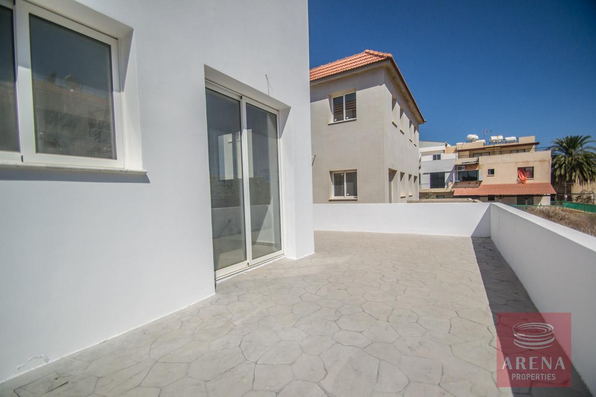semi0detached house in kapparis - veranda