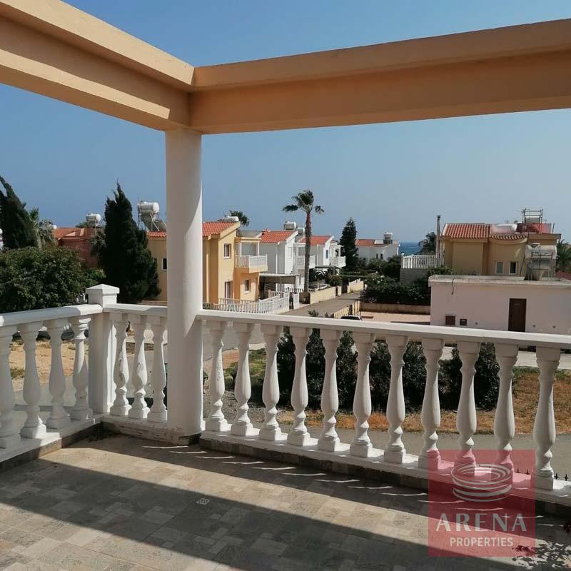 2 bed villa in ayia thekla - balcony