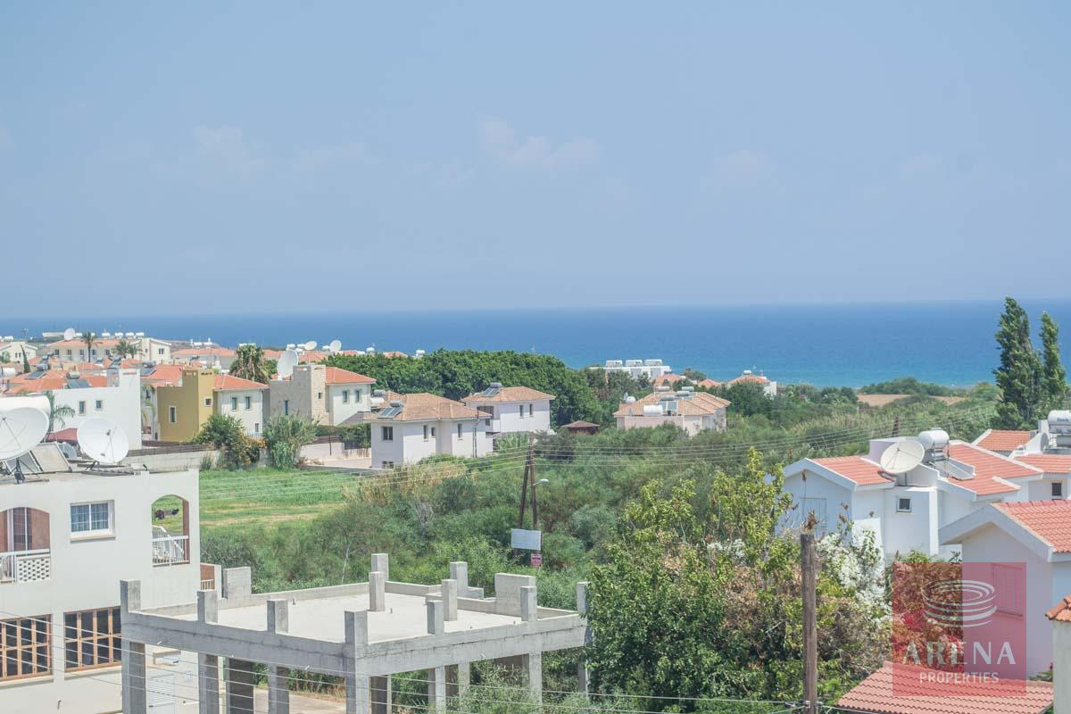 3 bed penthouse in kapparis - sea views
